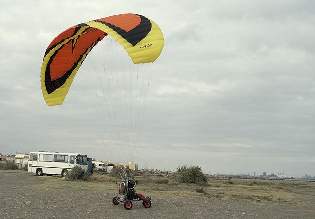 Paraglider ~ kurzer Anlauf