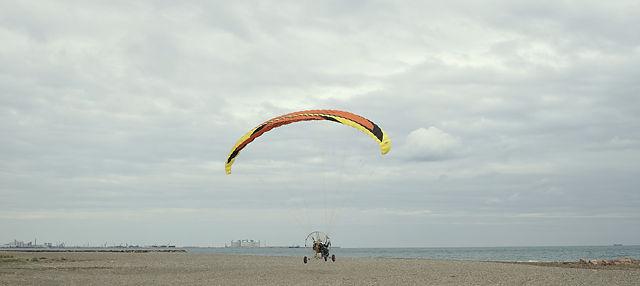 Paraglider ~ und abgehoben!
