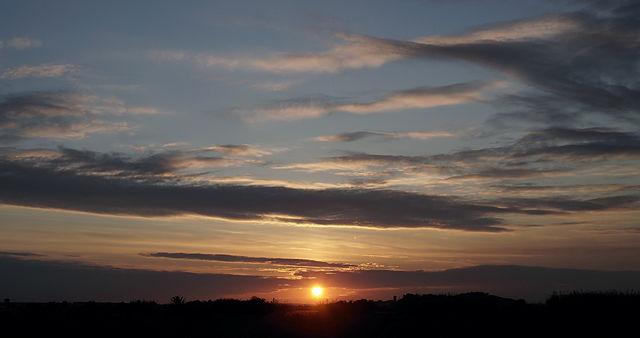 der angesungene Sonnenuntergang