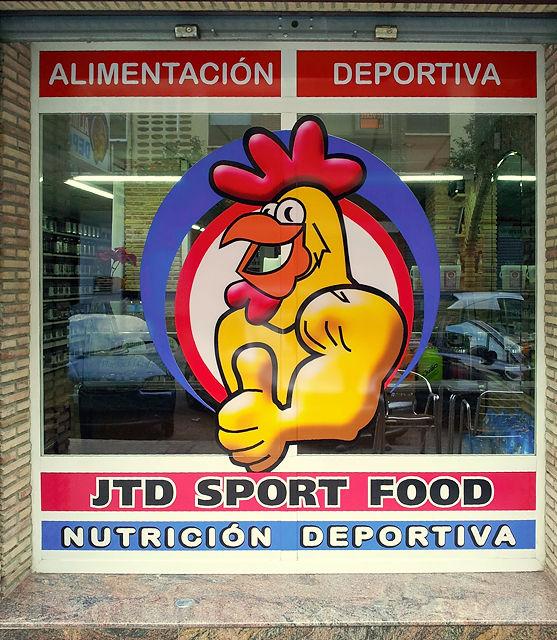 Nahrungsmittel speziell für Sportler ~ damit der Gockel ordentlich Muckis kriegt!