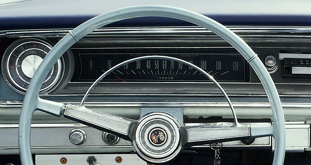 Impala ~ Tacho bis 120 ~ Meilen!
