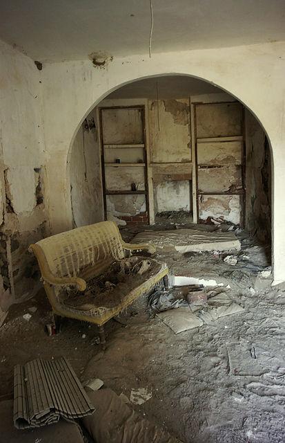Fundstück in einem verlassenen andalusischen Bauernhof