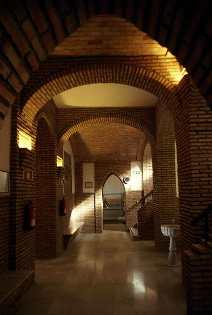 stilvoll im Gewölbekeller ~ Thermalbad San Nicolás in Alhama de Almería