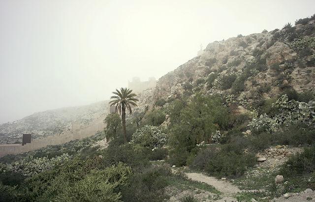 bei der Alcazaba ~ im Dunst