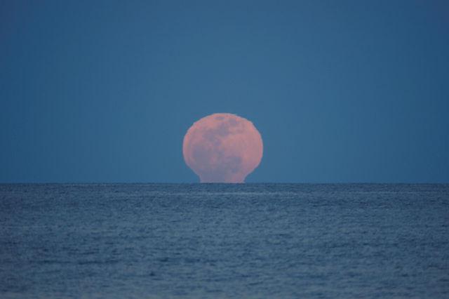 der volle Mond ~ Aufgang III