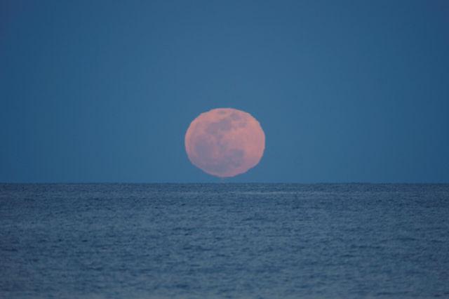 der volle Mond ~ Aufgang V
