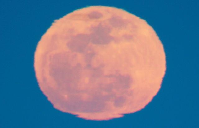 der volle Mond ~ Aufgang VIII ~ nahe ran