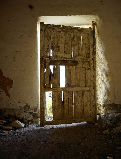 Tür zum Haus ~ von innen