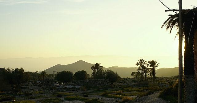Fake-Ägypten in meinem Blog ~ im Hintergrund die Pyramiden?