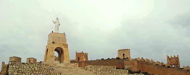 Jesus Christ und der Segen für Almería