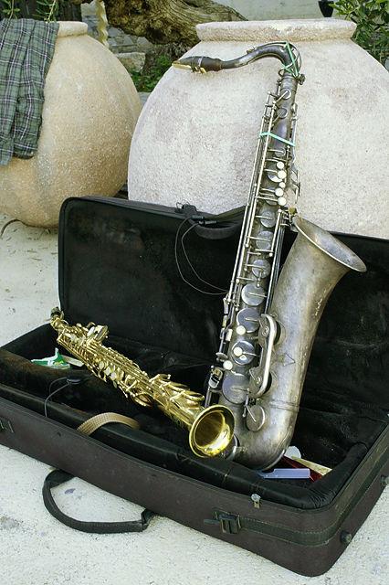 das schöne Saxophon aus meinem Geburtsjahr