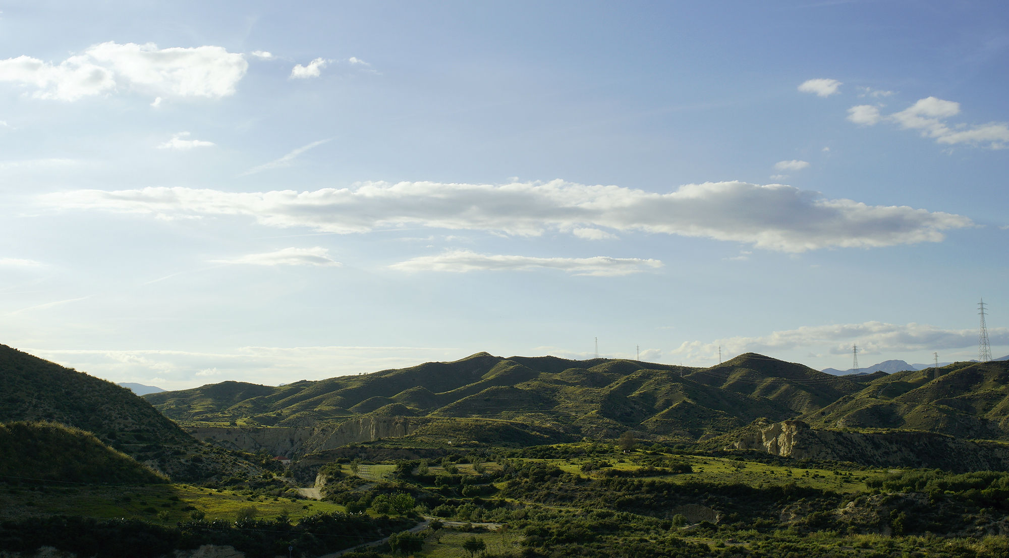* Abend in der Sierra de Filabres *
