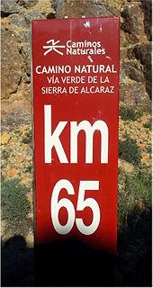 Via Verde de la Sierra de Alcaraz ~ km 65