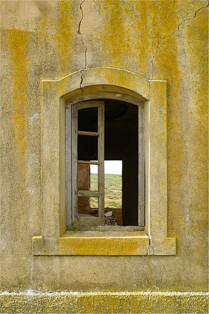 Fenster der Bahnarchitektur