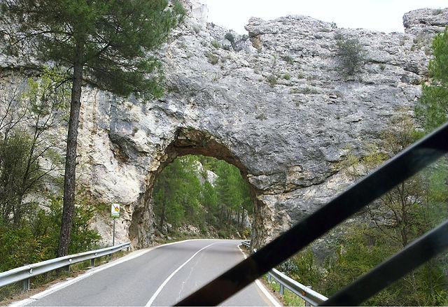 CM201 irgendwo zwischen Beteta und Molina de Aragon