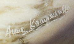 Anne Kampschulte ~ Signatur ~ Ausschnitt aus dem obigen Bild