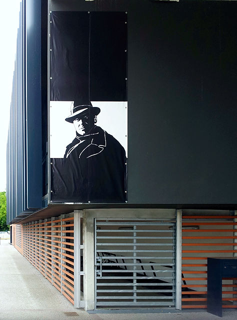 Jean Moulin ~ Portrait an der gleichnamigen Schule in Blagnac