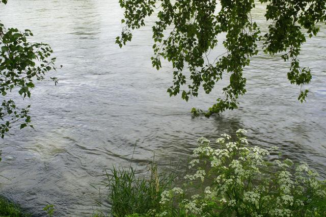 La Garonne, gut gefüllt