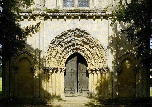 Portal von Saint-Nicolas-de-Blasimon