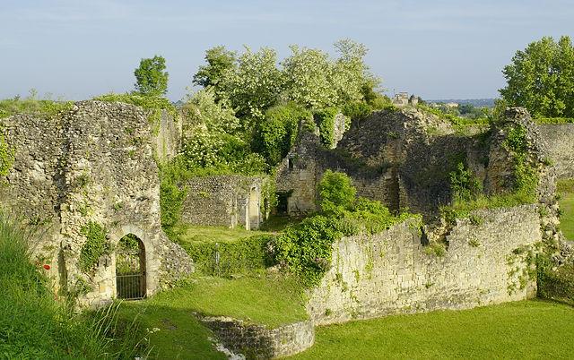 Parklandschaft mit pittoresken Ruinen ~ Citadelle de Blaye