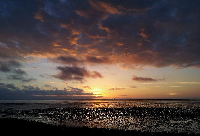 der nächste atlantische Sonnenuntergang I