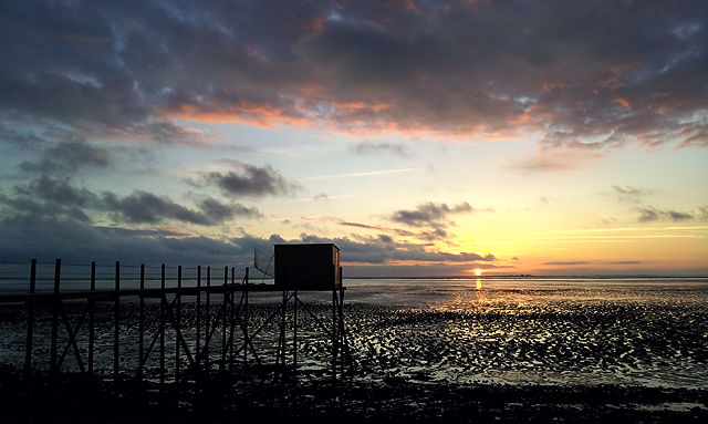 der nächste atlantische Sonnenuntergang II