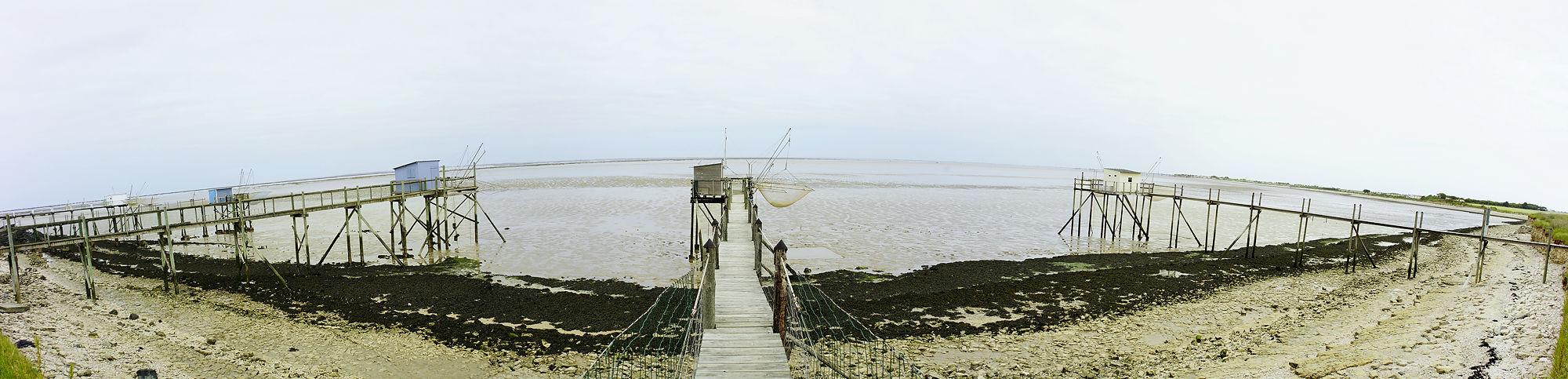 * Carrelets an der Baie de Aiguillon *