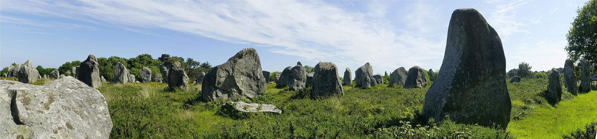 * die Steinreihen von Carnac *