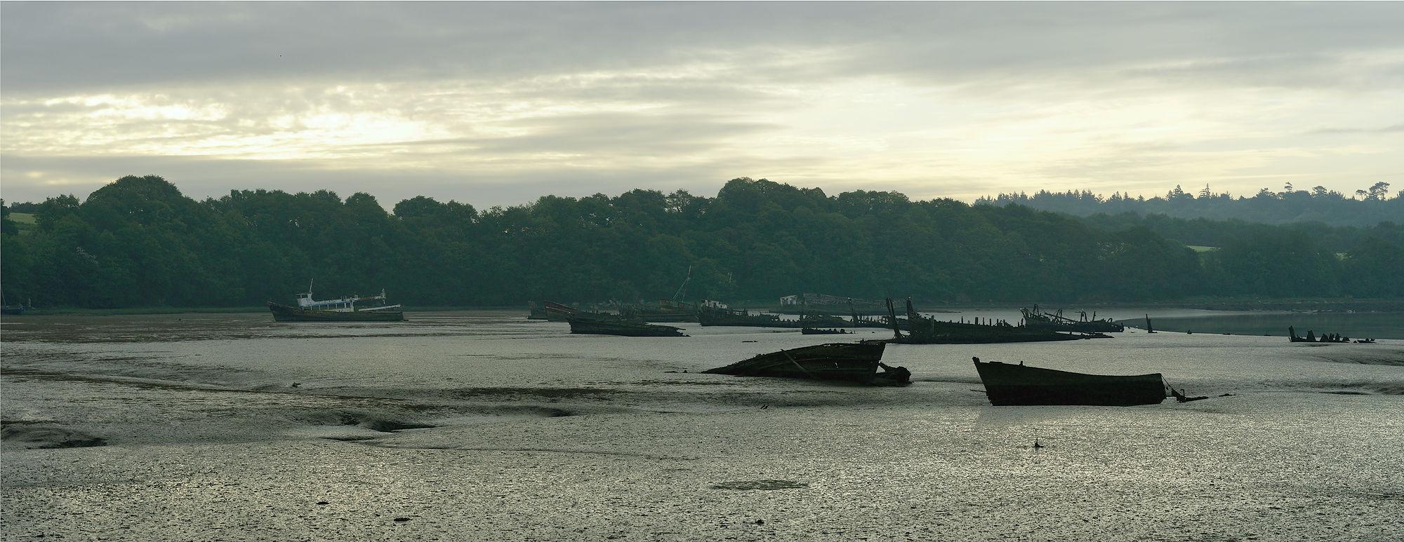 * Cimetière du Bateaux ~ Abschiedsbild am Morgen *
