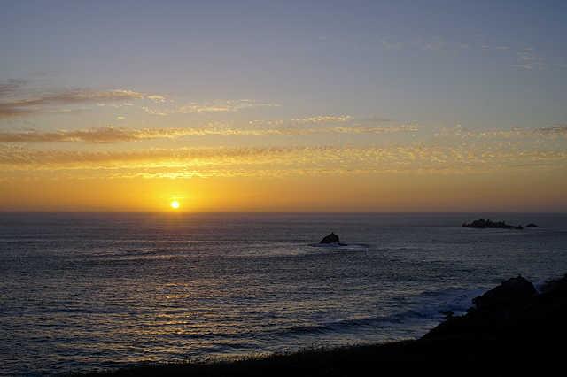Sonnenuntergang über dem Atlantik ~ 22:06