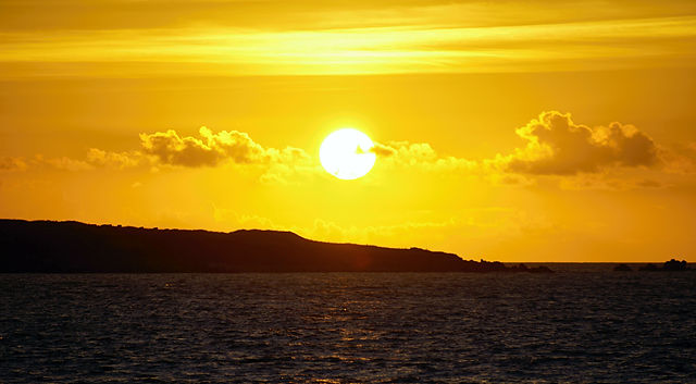 Sonnenuntergang ~ bald!
