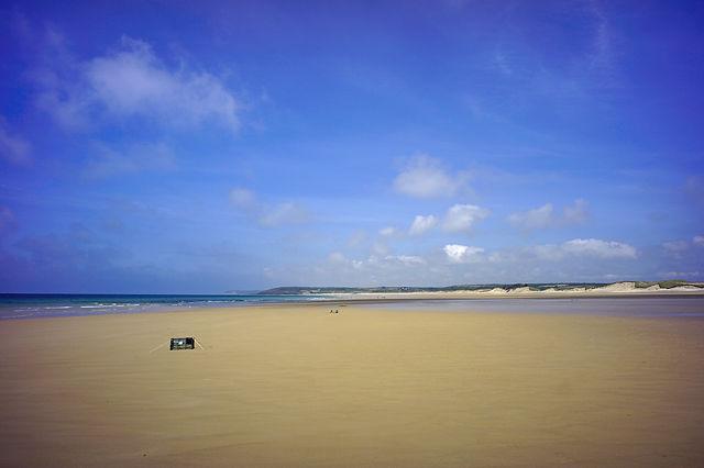 * Normandie, Sonntag am Strand ~ Rundumblick *