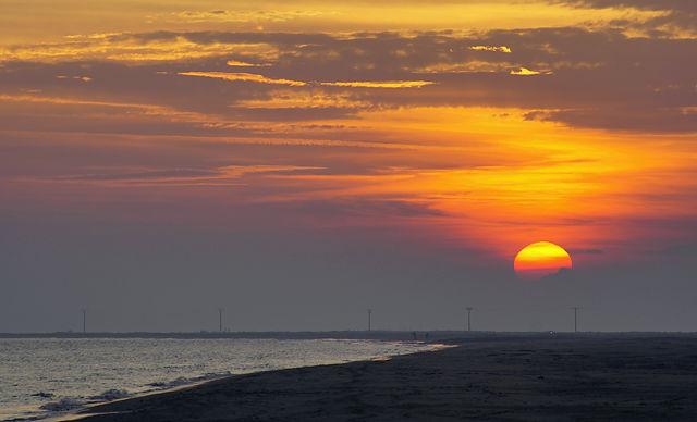 mal wieder Sonnenuntergang