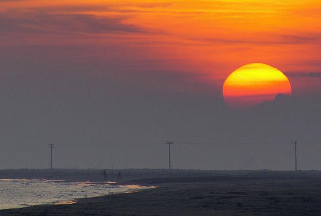 mal wieder Sonnenuntergang ~ Ausschnitt