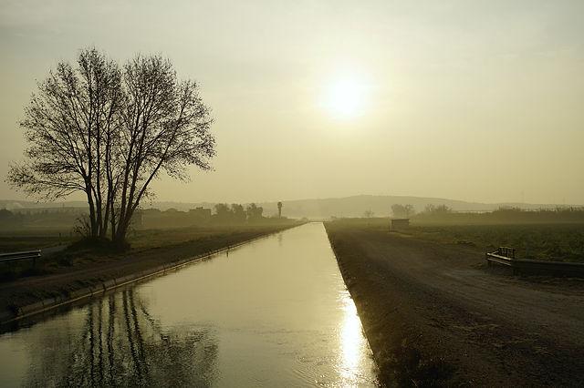 Canal de l'Esquerrra de l'Ebre ~ ein wenig später