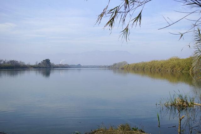 Ebro, flußaufwärts