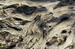 Erosion ~ Flug über karge Landschaften III