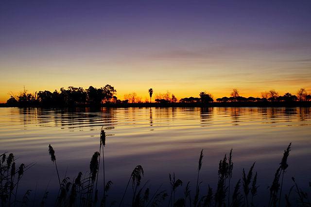 Morgen über Ebro I