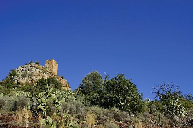 Castell d'Almenara ~ westlicher Turm