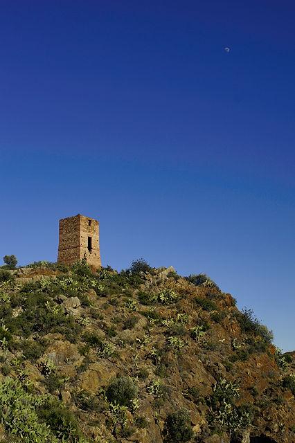 Castell d'Almenara  ~ der östliche Turm