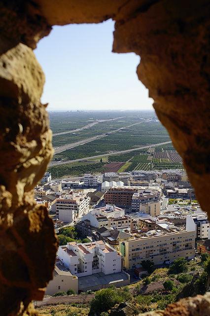 Castell d'Almenara  ~ Blick aus dem östlichen Turm