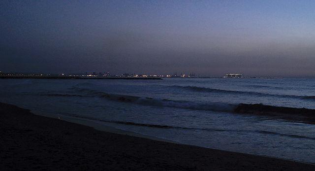 Port de Sagunt ~ früher Morgen