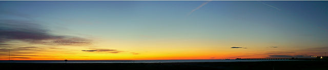 ein verlockender Morgenhimmel