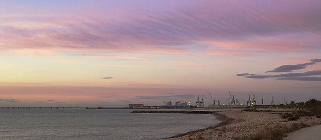 Port de Sagunt, mal von der anderen Seite