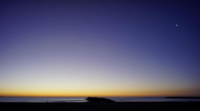 Morgenhimmel, 15mm  Brennweite, horizontal 77°