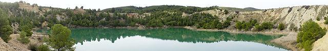 Laguna la Rosa in der Serra Calderona