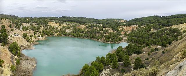 * Laguna La Rosa ~ Suchbild mit altem Herrn Magirus *