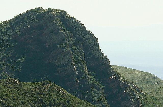 Ausschnitt: Montañas am Valle Bonito ~ Schichten des Felses I