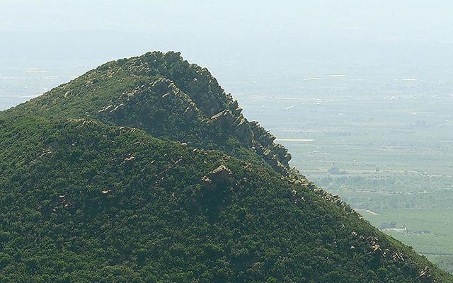 Ausschnitt: Montañas am Valle Bonito ~ Schichten des FelsesII