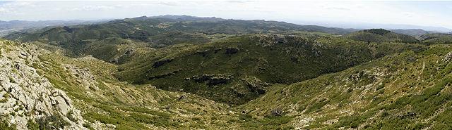Serra Calderona, jetzt aus rund tausend Höhenmetern